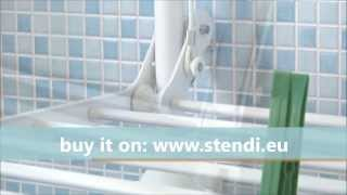 Stendì Sfera | The Wall Mount Drying Rack | Made In Italy