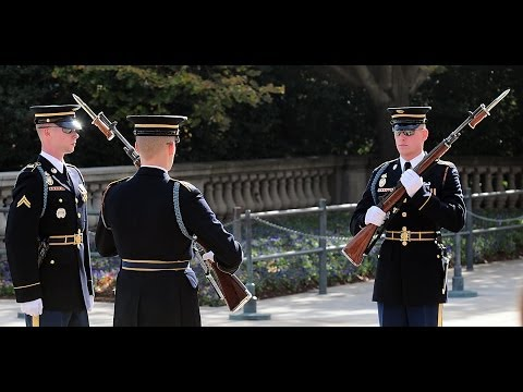 Best Changing of the Guard, Tomb of the Unknown Soldier, Arlington