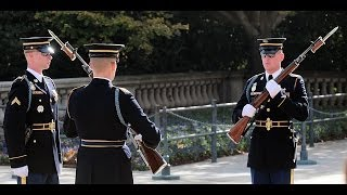 Best Changing of the Guard, Tomb of the Unknown Soldier, Arlington thumbnail