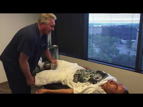 Severe Low Back Pain, Sacroiliac Pain, Sciatica First Time Adjustment