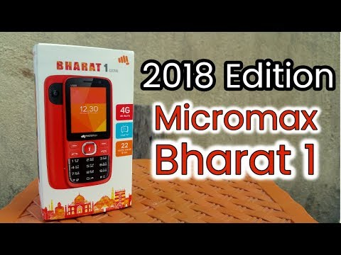 Micromax Bharat 1 (2018) Edition - Unboxing - Review - Jio Phone Killer - Must Watch - 동영상