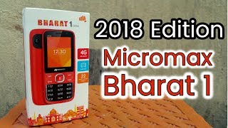 Micromax Bharat 1 (2018) Edition | Unboxing | Review | Jio Phone Killer | Must Watch