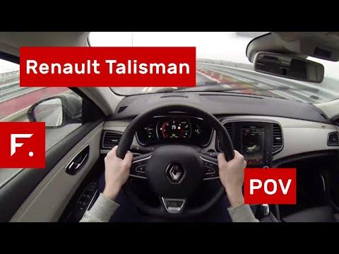 Renault Talisman Energy DCi 160 POV Test Drive