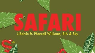 J Balvin - Safari ft. Pharrell Williams, BIA, Sky (Hungarian lyrics\Magyar felirat)