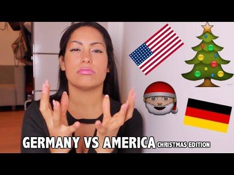 GERMANY VS AMERICA: CHRISTMAS