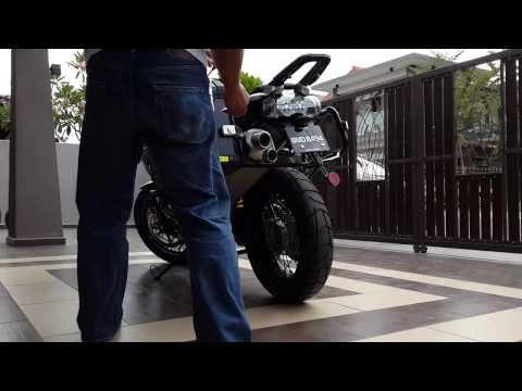 2012 Moto Guzzi Stelvio NTX 1200 8v Malaysia Part 5--Panniers