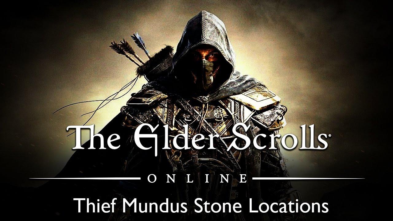 Elder Scrolls Online Thief Mundus Stone Locations Youtube