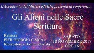Pier Giorgio Caria - GLI ALIENI NELLE SACRE SCRITTURE - RIMINI