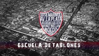 Tema nuevo San Lorenzo 2018 Escuela de Tablones - Tus calles mis venas son/el barrio mi corazon. ATR