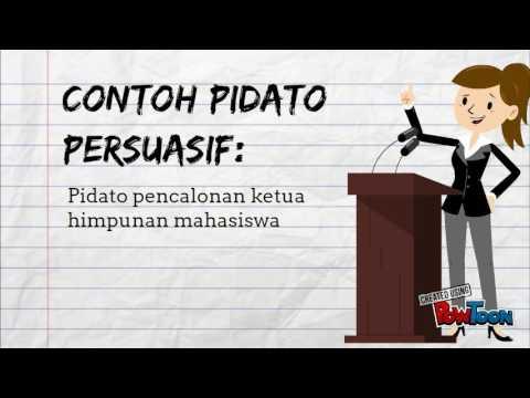 Pidato Persuasif Tugas Bicara Publik Youtube