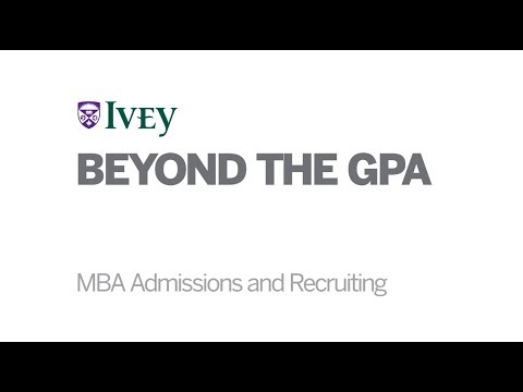 The MBA Tour: Ivey Business School