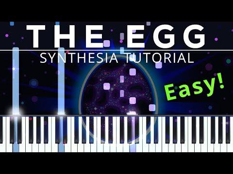 "Kurzgesagt | ""The Egg - A Short Story"" | Epic Mountain Music | PianoSynthesiaTutorial"
