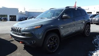 2015 Jeep Cherokee Trailhawk 3.2L V6 Start Up, Tour, and Review