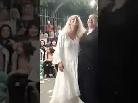 tepecik roman düğününde niran ünsal...