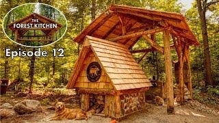 DIY Cedar Shingle Roof | Off Grid Log Cabin | The Forest Kitchen
