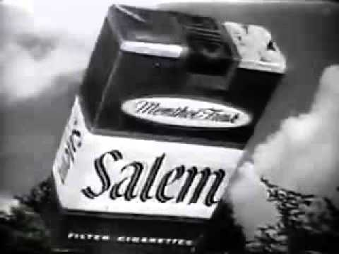 Salem Cigarette Advert - 1964