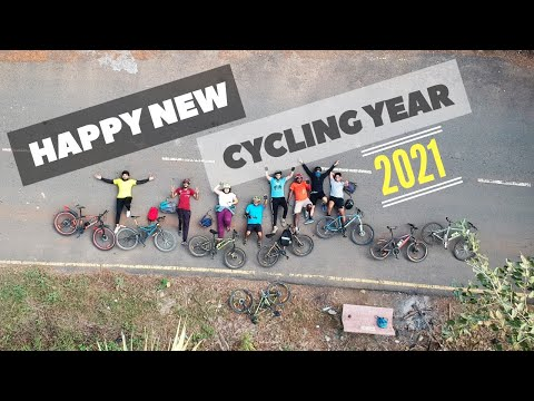 THE MOST NUMBER OF DRONE SHOTS I'VE EVER USED IN A VIDEO   HAPPY NEW YEAR RIDE 2021 & RESOLUTIONS