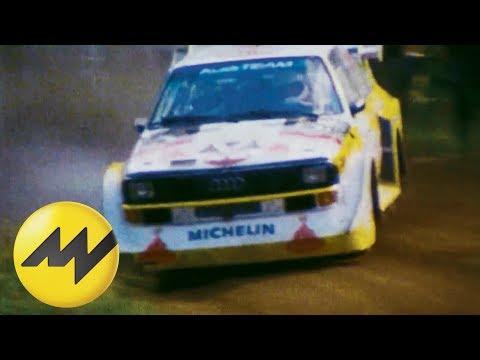 Die Rallye-Geschichte des Audi Quattro