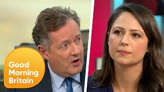 Piers Morgan and Corrie's Nicola Thorp Go Head-to-Head in Heated Sexism Row | Good Morning Britain