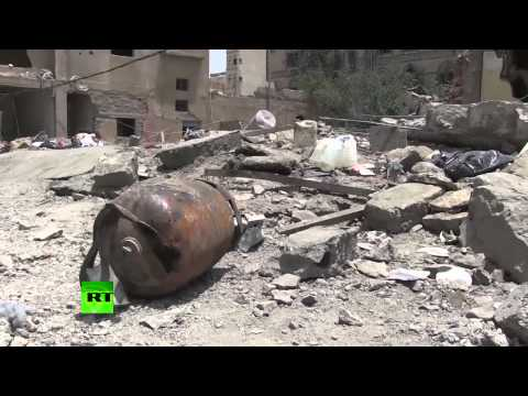 RAW: Yemen's capital Sanaa in ruins as Saudi-led airstrikes continue