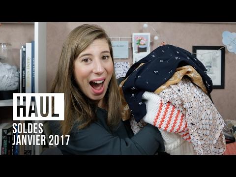 { Haul } - Soldes Janvier 2017 : C'est la Folie ! (Sézane, Des Petits Hauts, Sephora, Hema, ...)