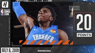 Hamidou Diallo Full Highlights Thunder vs Jazz (2019.07.06) Summer League - 20 Points!