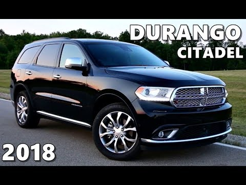 2018 dodge durango citadel youtube. Black Bedroom Furniture Sets. Home Design Ideas