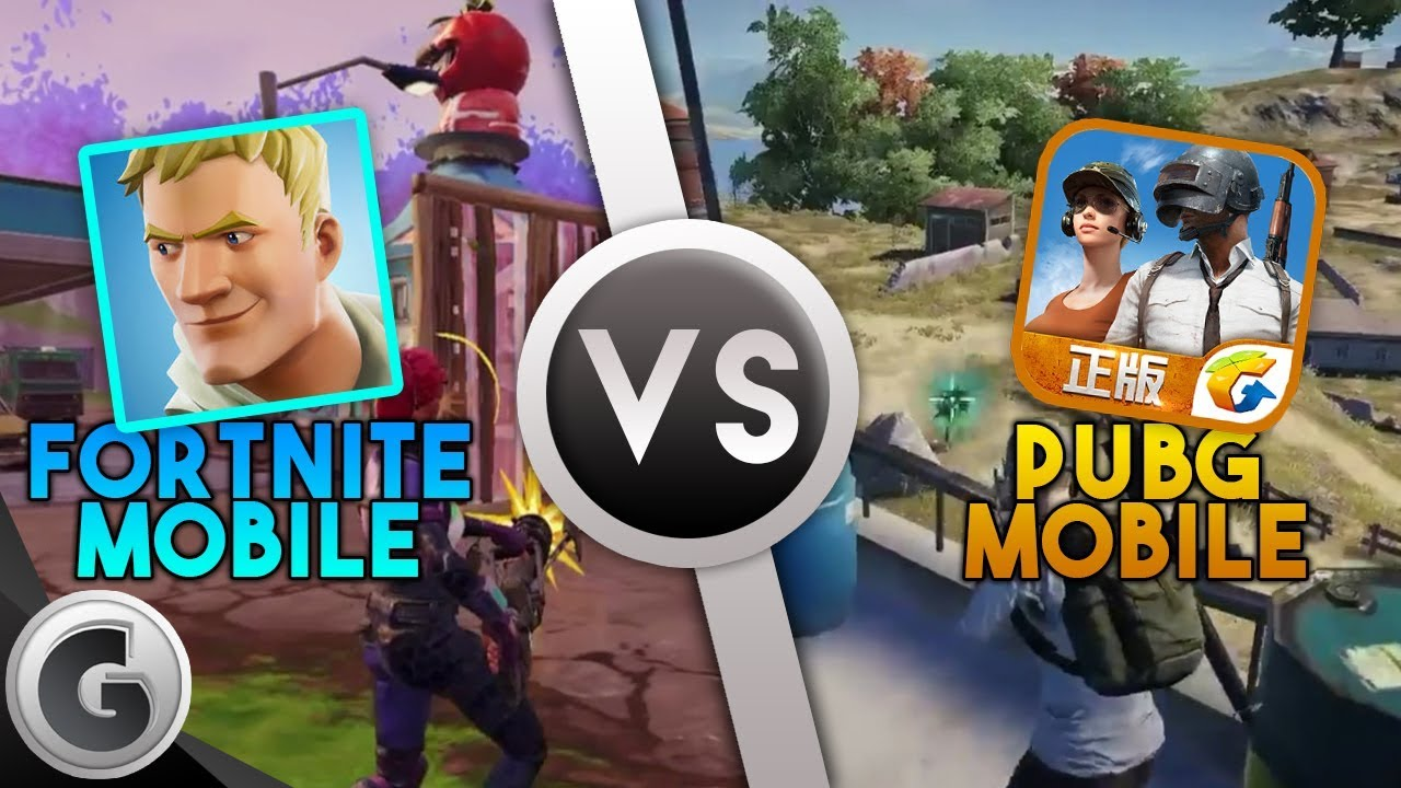 Pubg V Fortnite: FORTNITE: Mobile VS PUBG: Mobile