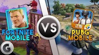 FORTNITE: Mobile VS PUBG: Mobile - Gameplay Trailer Comparison