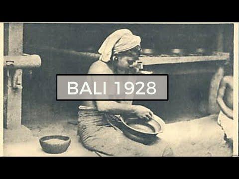 BALI IN OLD FILM | 1928