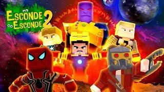Minecraft: VINGADORES - GUERRA INFINITA! (Esconde-Esconde 2)