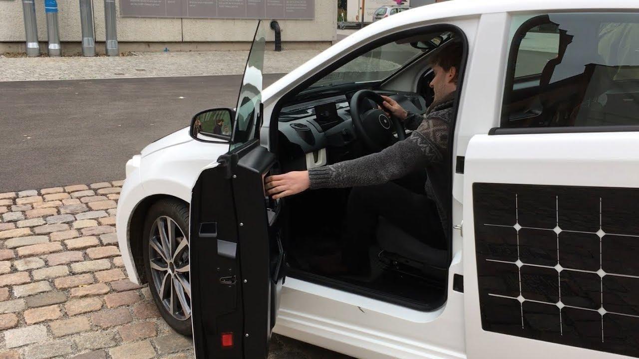 So funktioniert das Solar-E-Auto Sion von Sono Motors - YouTube
