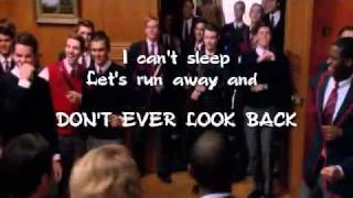 Glee cast - Teenage Dream (karaoke instrumental)