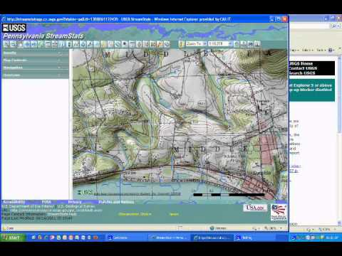 4-H Stream Teams: Watershed Delineation With USGS StreamStats