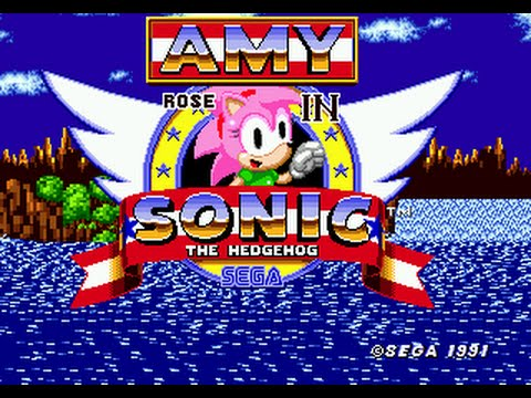 Amy Rose in Sonic the Hedgehog[full hack] - YouTube