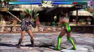 Tekken Tag Tournament 2 (Xbox 360) Arcade as Michelle