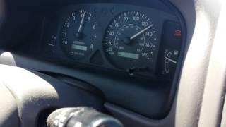 1999 Toyota Corolla Speed Test At 221 000Km