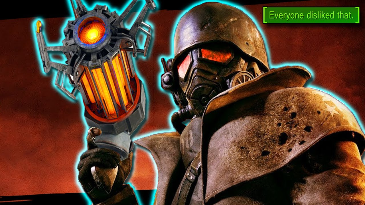 Can you beat Fallout New Vegas with a GRAVITY GUN? thumbnail