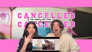 Larray - Canceled (Official Music Video) REACTION!!!