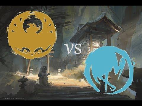 L5R LCG: Phoenix vs Crane