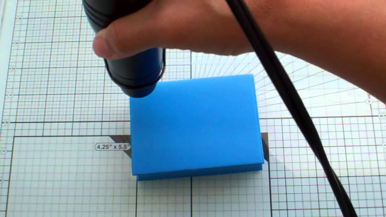 Download Moldable foam stamps & Ancient Page ink