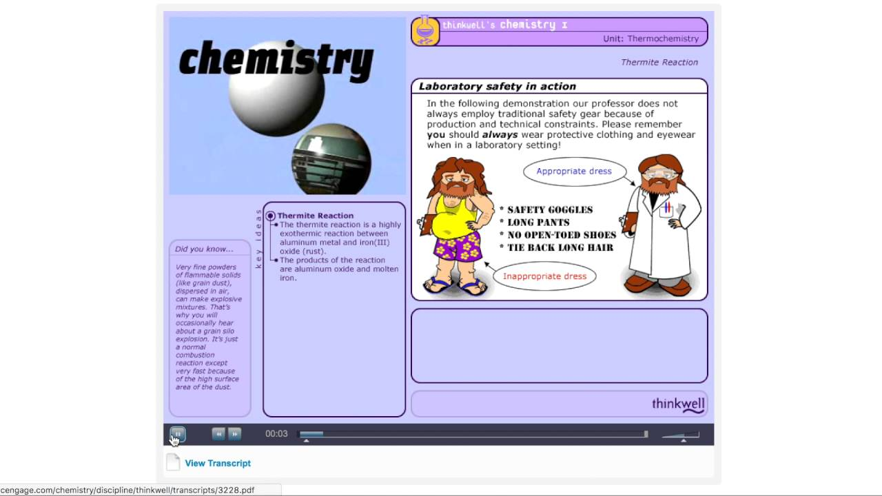Awesome General Chemistry College Resource