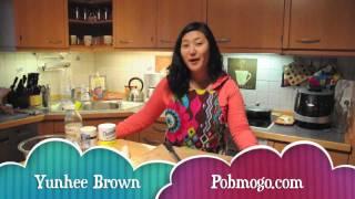 How To Make Korean Radish Salad -- Pobmogo