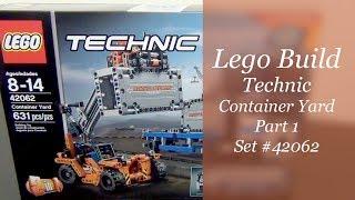 LEGO Technic Build - Container Yard Set #42062 - Part 1