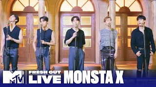MONSTA X Performs 'One Day' | #MTVFreshOut