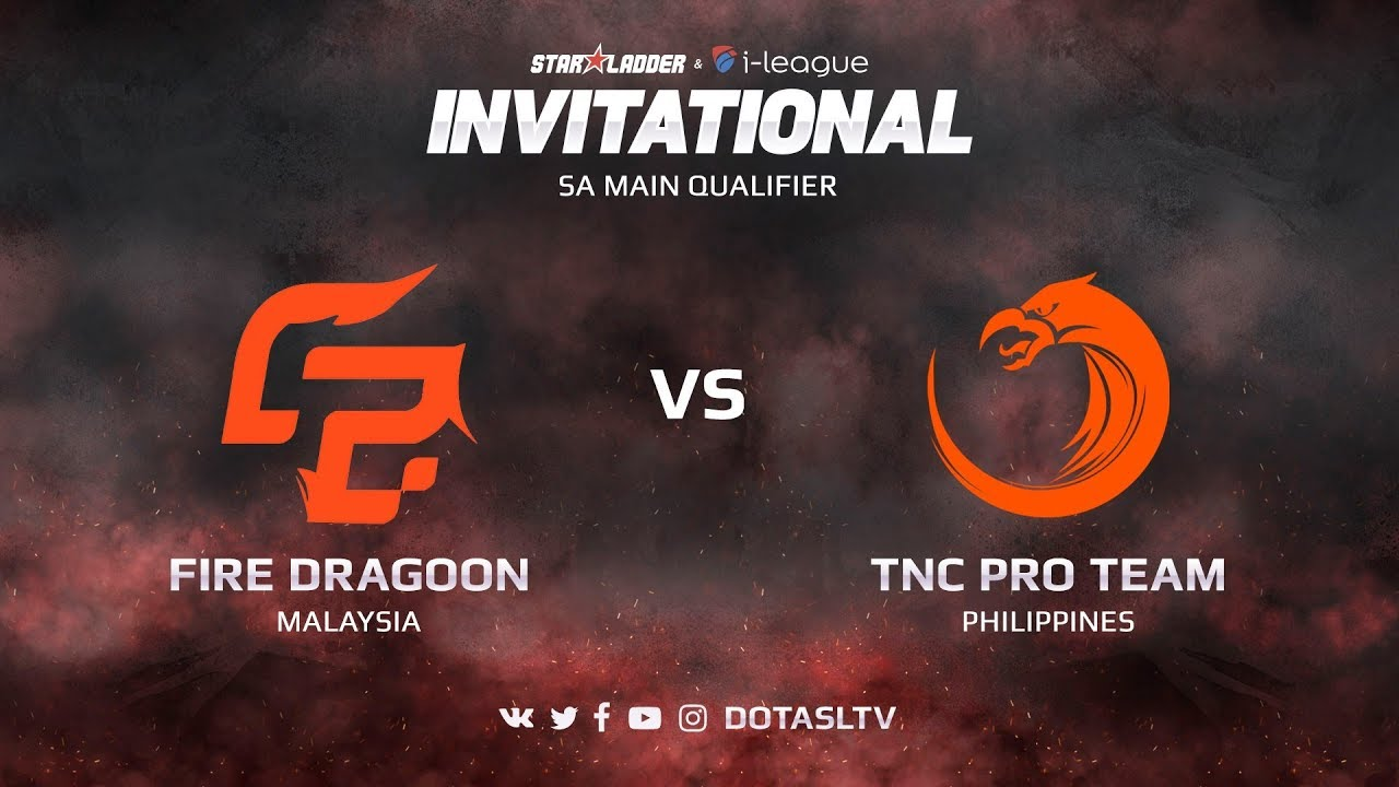 Fire Dragoon против TNC Pro Team, Вторая карта, SEA квалификация SL i-League Invitational S3