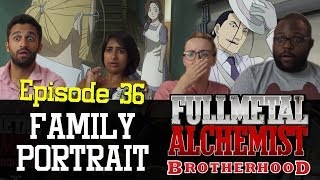 Fullmetal Alchemist: Brotherhood - Episode 36 Family Portrait - Group Reaction