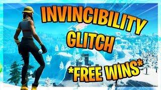 INVINCIBILITY GLITCH *FREE WINS* - Fortnite