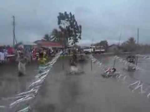 "Sack Racing sa Tubigan "" Palayan Festival 2013""Barangay Sta. Maria, Mansalay Oriental Mindoro"