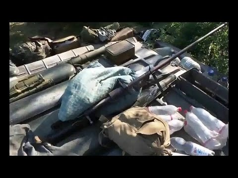 Ukraine war: Ukrainian forces got terrorists weapons and vehicles CTO Donbass Donetsk